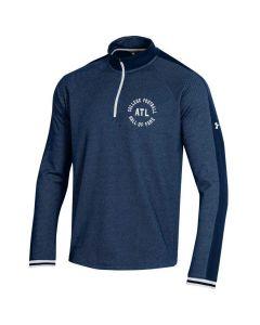 UA Adult ATL College Football Hall ofFame 1/4Zip Long Sleeve