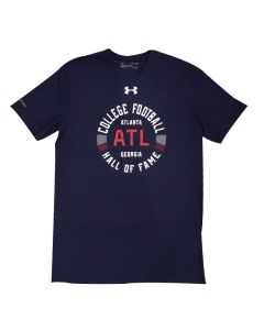 Adult UA Tech College Football Hall of Fame ATL T-Shirt