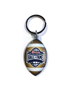 College Football Hall of Fame3-D Digital Print Football Keychain