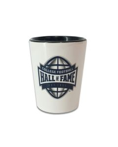 College Football Hall of Fame Two-Tone Shot Glass