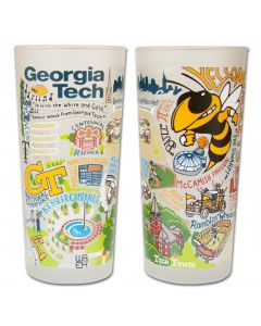 Georgia Tech University Pint Glass