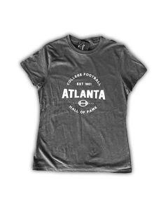 Ladies Cut Atlanta College Football Hall of Fame Tee Shirt