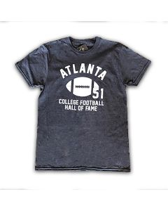 T-Shirt Atlanta College Football Hall of Fame Tee Charcoal