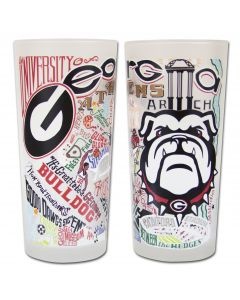 University of Georgia Pint Glass